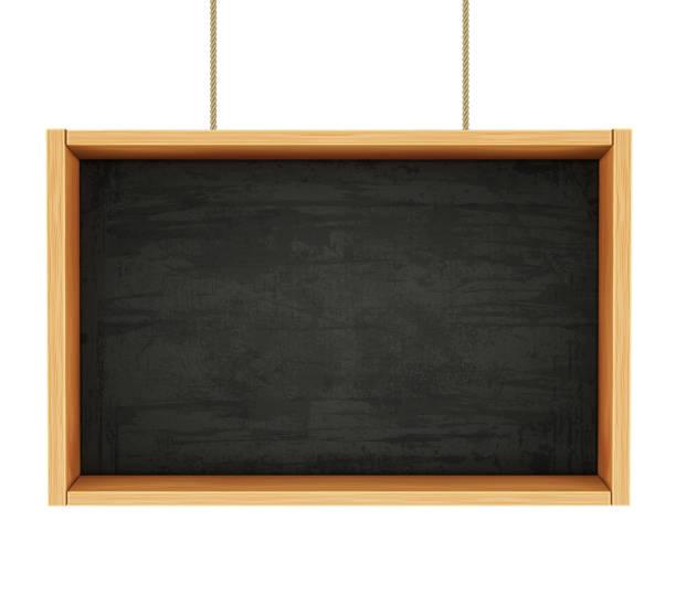 ロープの黒板 - 作文の授業点のイラスト素材/クリップアート素材/マンガ素材/アイコン素材