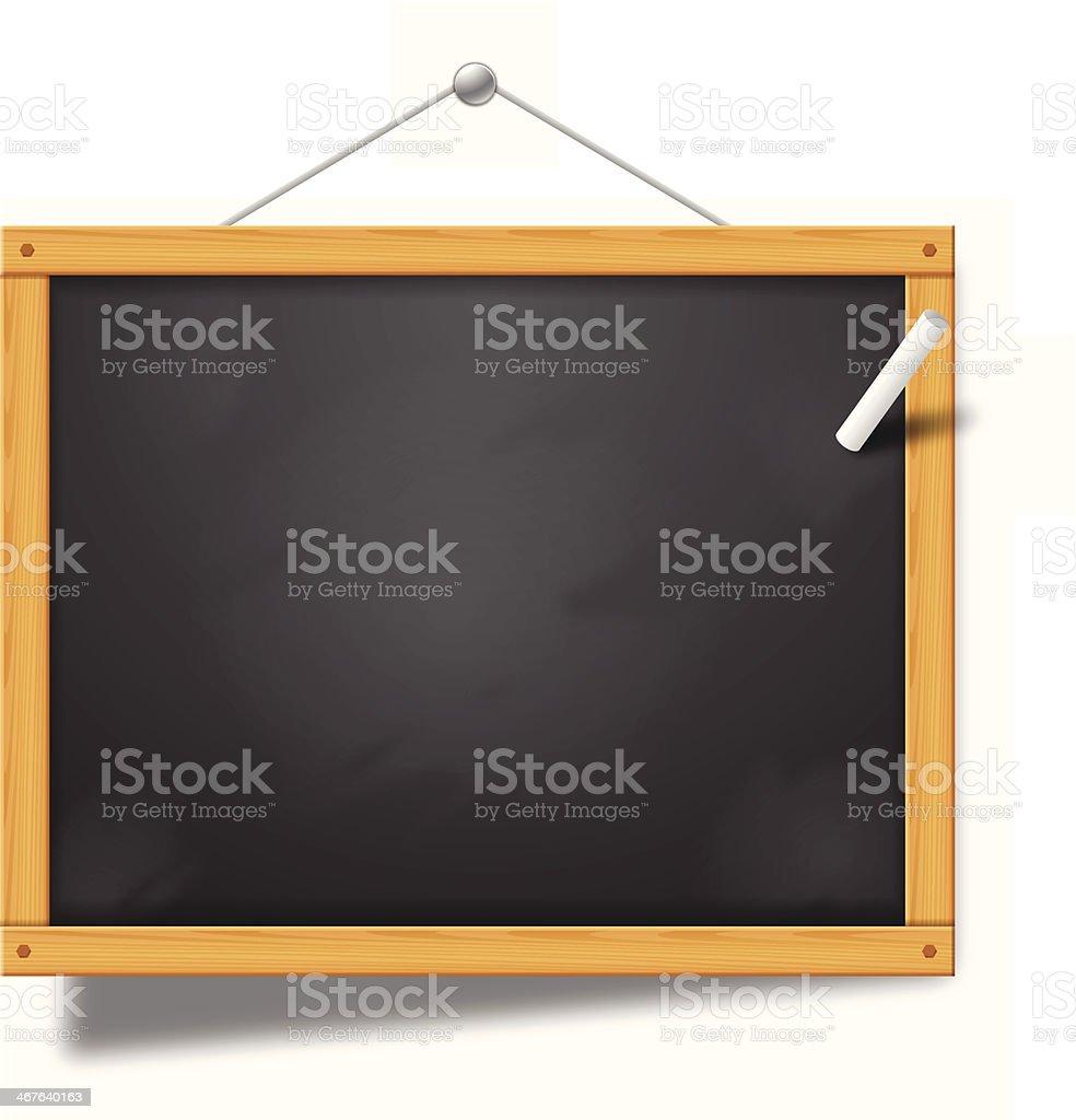 Panneau Chalkboard - Illustration vectorielle