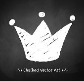 Chalked crown