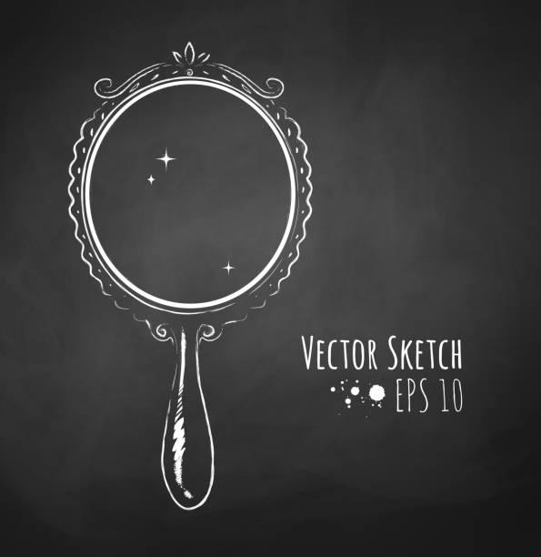 Best Hand Mirror Illustrations Royalty Free Vector