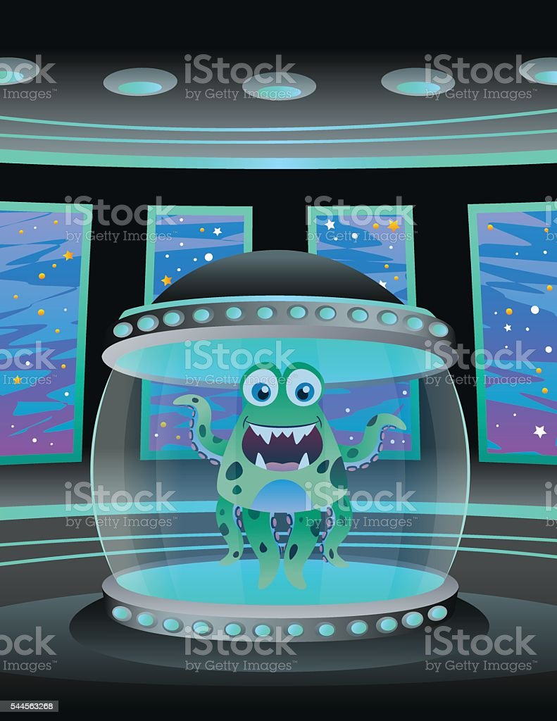Chamber with Octopus royalty-free chamber with octopus stock vector art & more images of alien