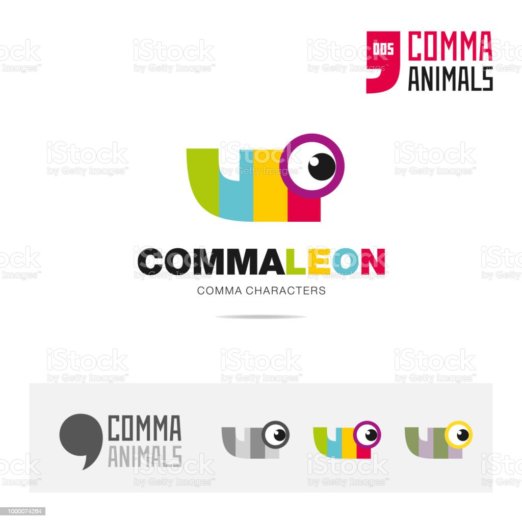 Chameleon Animal Concept Icon Template For Modern Brand Identity And