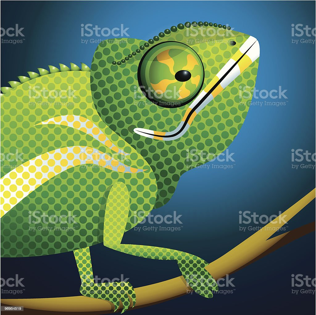 Chameleon portrait royalty-free chameleon portrait stock vector art & more images of anthropomorphic face