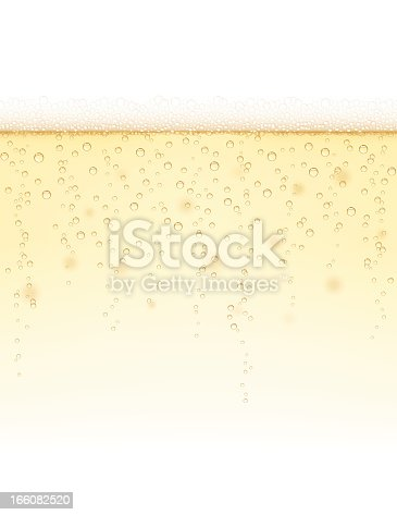 Champagne background. Can be tiled seamlessly in horizontal direction. EPS 10 Illustration. Transparency and transparency effects used. Global Colors
