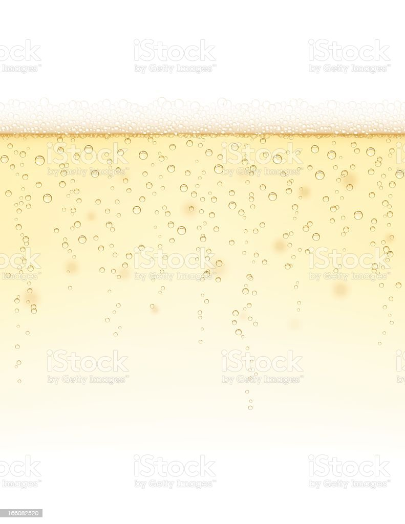Champagne Background vector art illustration