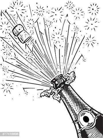 istock champagne bottle 517418898