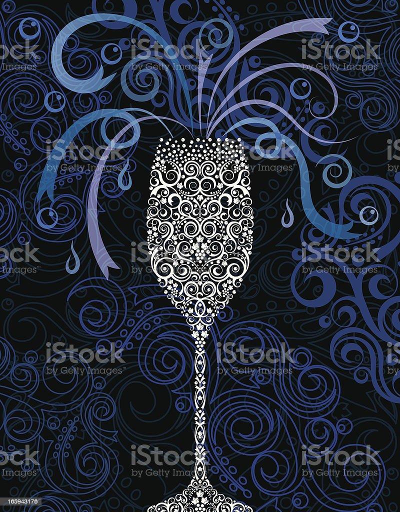 Champagne Celebration royalty-free stock vector art