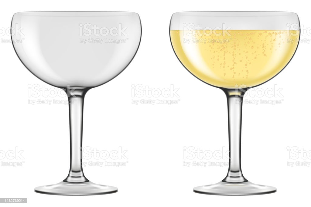 Champagne Coupe Type Glasses Stock Illustration Download Image Now Istock