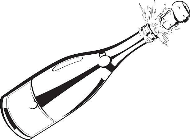 Champagne bottle clipart free download jpg - Clipartix