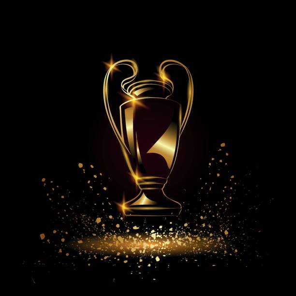 Champions League Trophy Vector Best Uefa Champ...