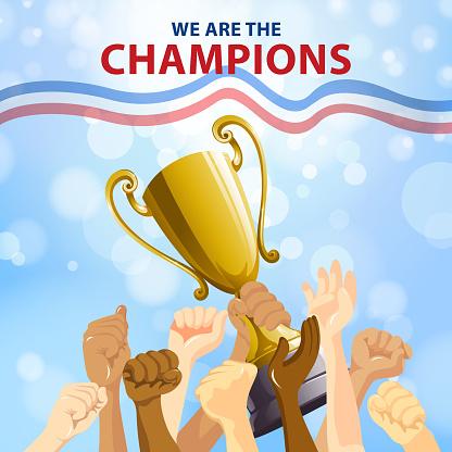 Champions Team Celebration