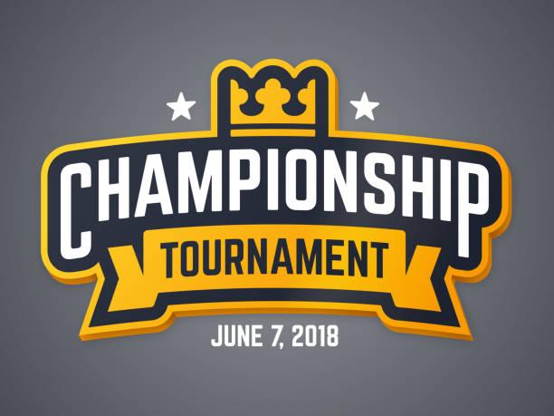 stockillustraties, clipart, cartoons en iconen met kampioenschap toernooi header - kampioenschap