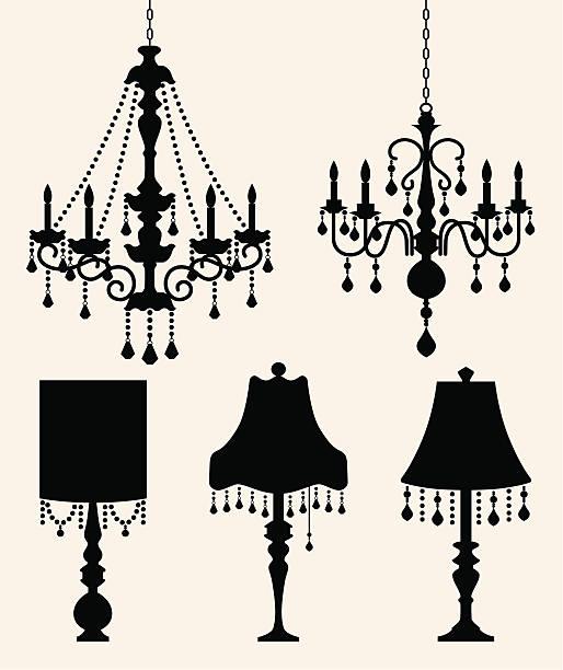 Best Chandelier Illustrations, Royalty-Free Vector