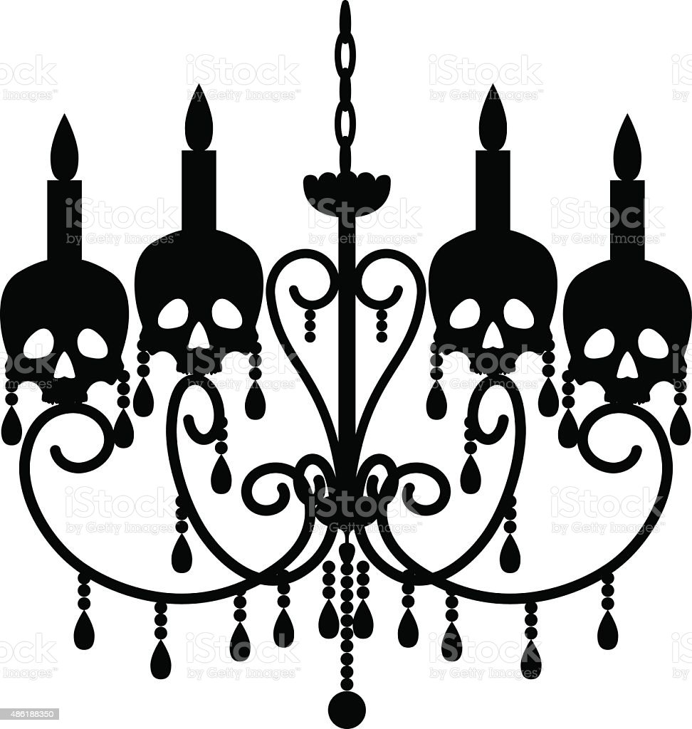 Chandelier with skulls stock vector art more images of 2015 chandelier with skulls royalty free chandelier with skulls stock vector art amp more images mozeypictures Choice Image