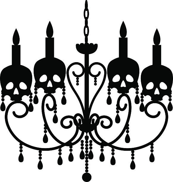 Royalty free halloween chandelier clip art vector images halloween chandelier clip art vector images illustrations aloadofball Image collections