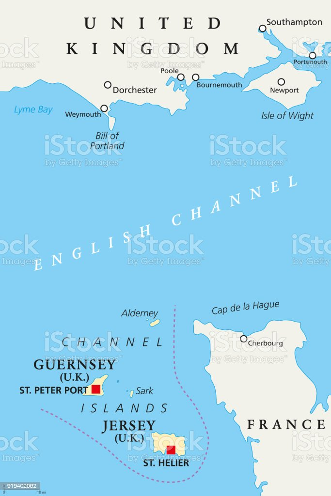 Channel islands guernsey and jersey political map stock vector art channel islands guernsey and jersey political map royalty free channel islands guernsey and jersey gumiabroncs Gallery