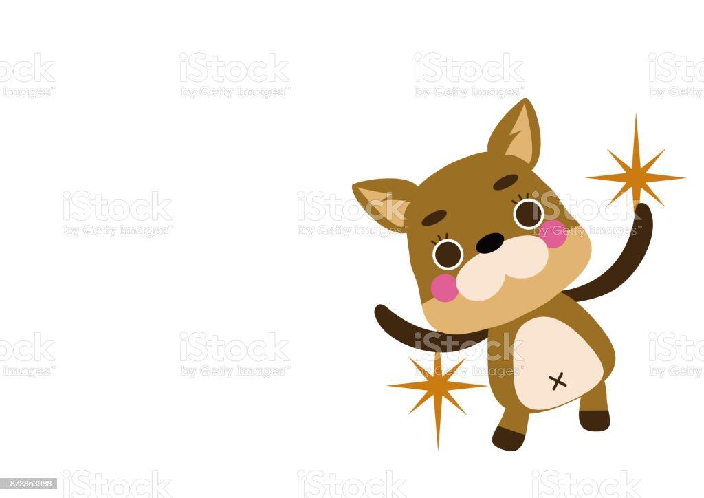 キャラクター デザイン1 つのポイント犬のイラストです子犬クリップ