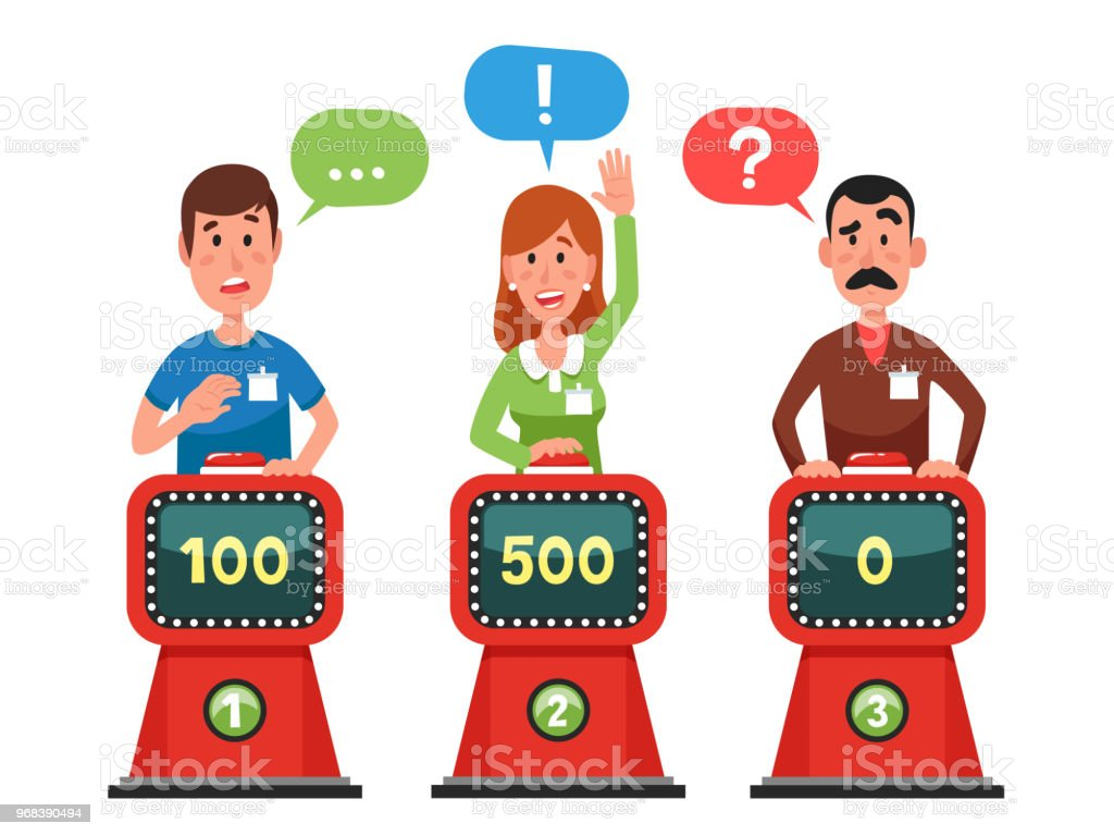 Zeichen Antwort Testfrage Intellekt Gezeigt Taste Und Quizfragen Zu ...