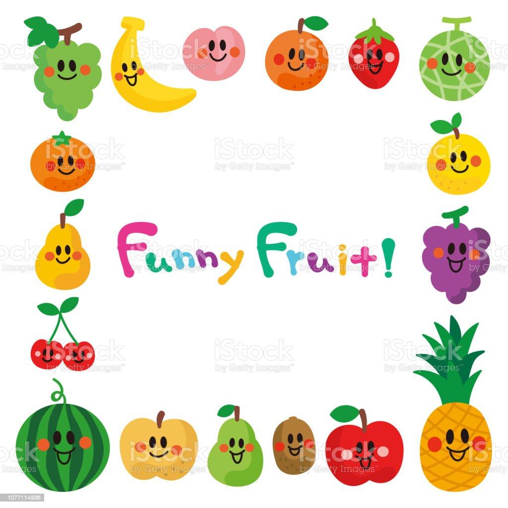 Fruitsframe の笑顔文字 アイコンのベクターアート素材や画像を多数ご用意 Istock