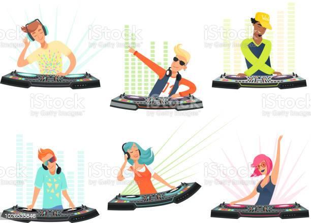 Characters vector illustrations of music cartoon mascots vector id1026535846?b=1&k=6&m=1026535846&s=612x612&h=t2ocbaj8wzeaeo9hboxflwcqjiut2szvnw 2lghevks=