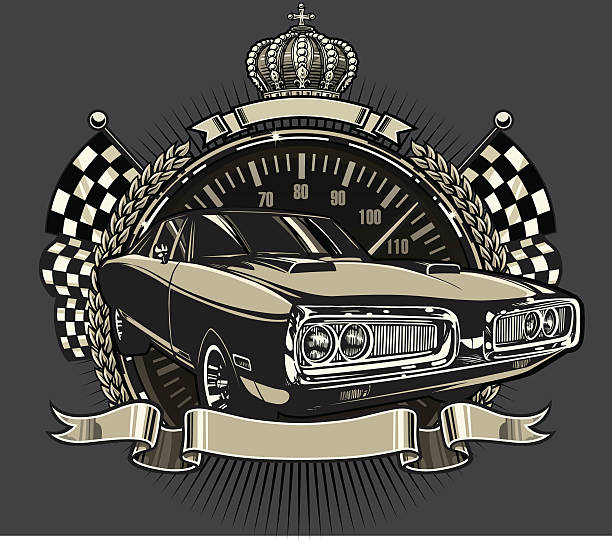 Royalty Free Dodge Charger Clip Art, Vector Images ...