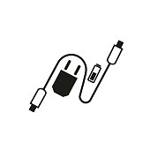 Charging accessories icon