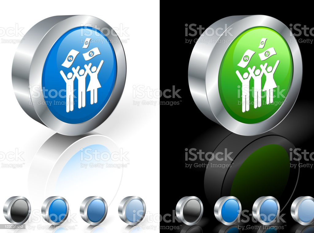 charity 3D royalty free vector art royalty-free stock vector art