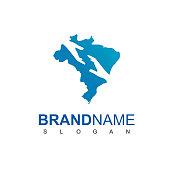 Brazil Charity Logo Design Template