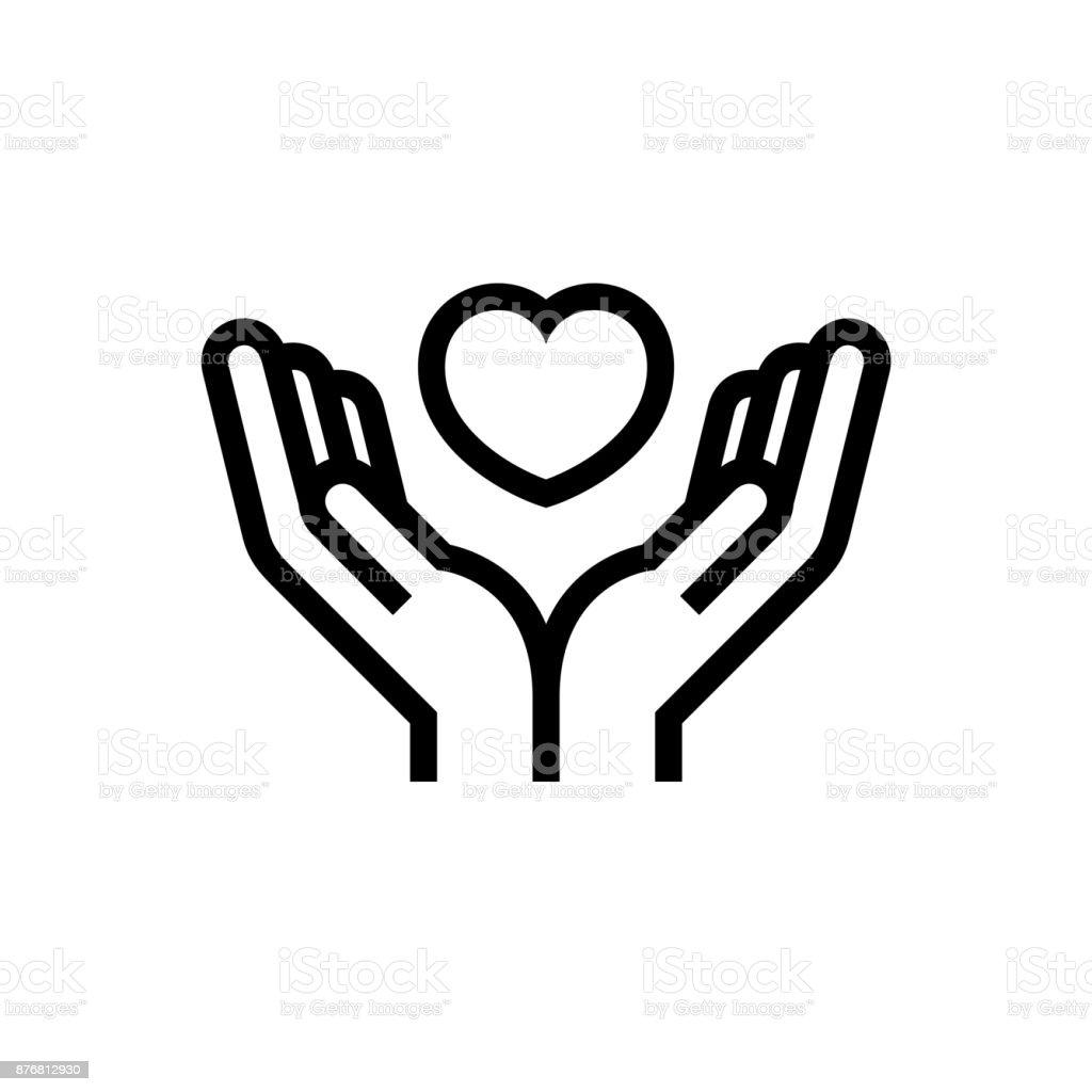 Charity volunteer collaboration heart love hands icon symbol stock charity volunteer collaboration heart love hands icon symbol royalty free charity volunteer collaboration heart love buycottarizona