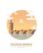 Charles Bridge Prague Czechia