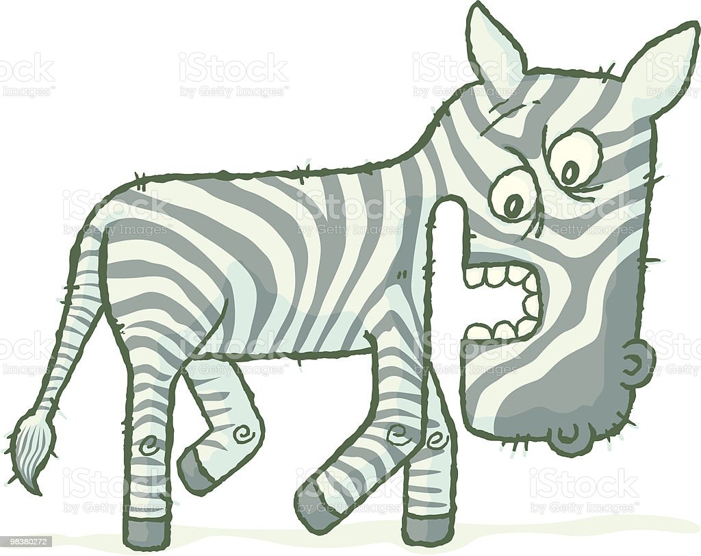 Charlie Zebra royalty-free charlie zebra stock vector art & more images of animal wildlife
