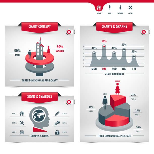 charts und statistiken - messlatte stock-grafiken, -clipart, -cartoons und -symbole