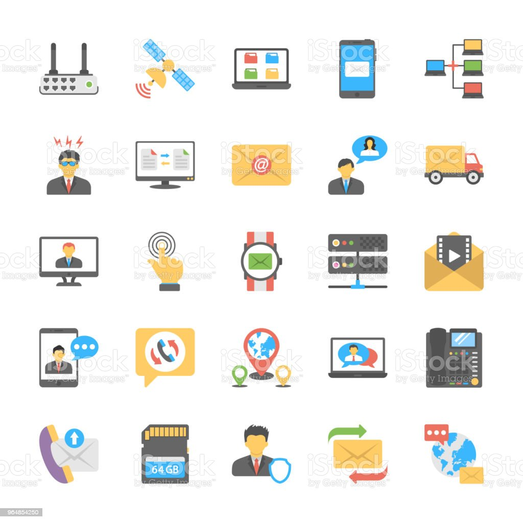 Chat and Social Networking Icons royalty-free chat and social networking icons stock vector art & more images of artificial intelligence