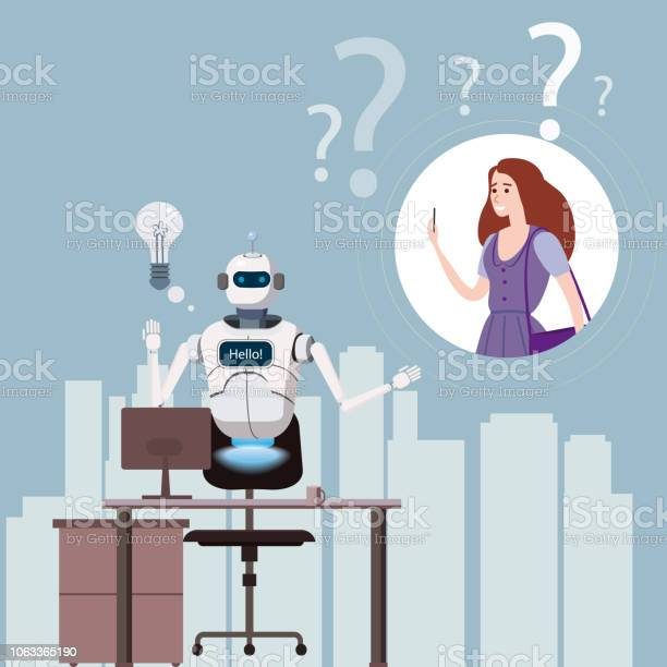 Robot chat online with girl Cusspy Video
