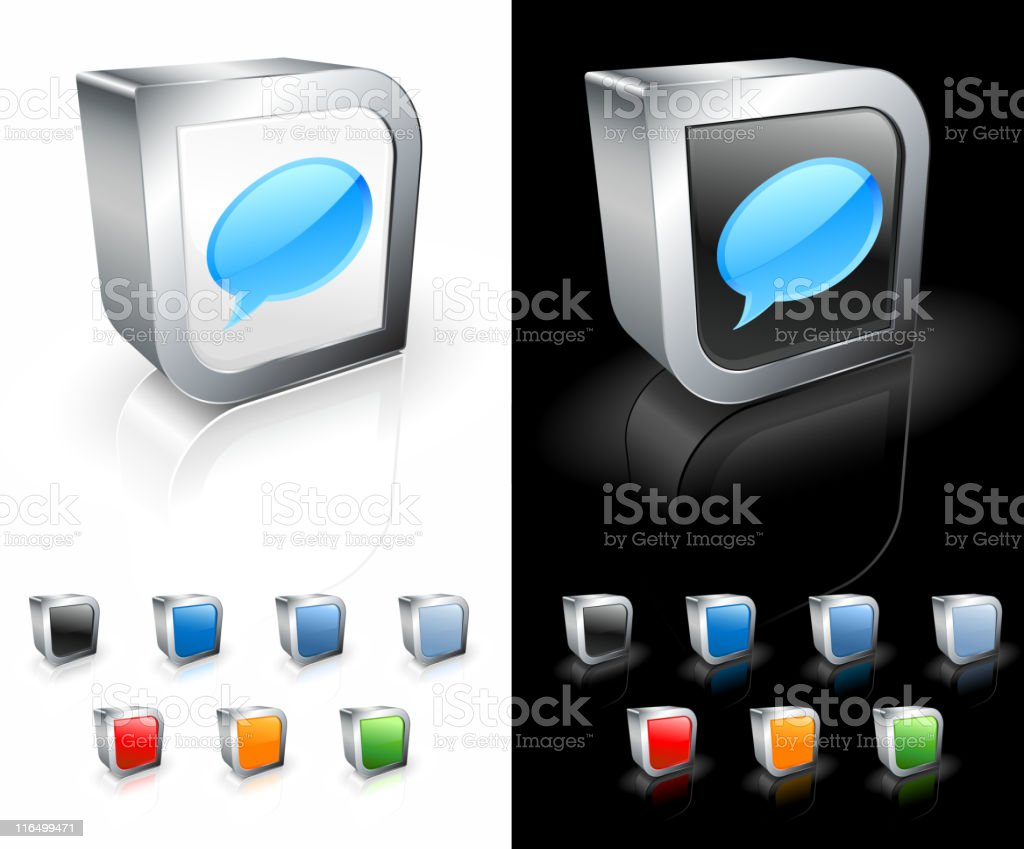 chat square royalty free vector art royalty-free stock vector art