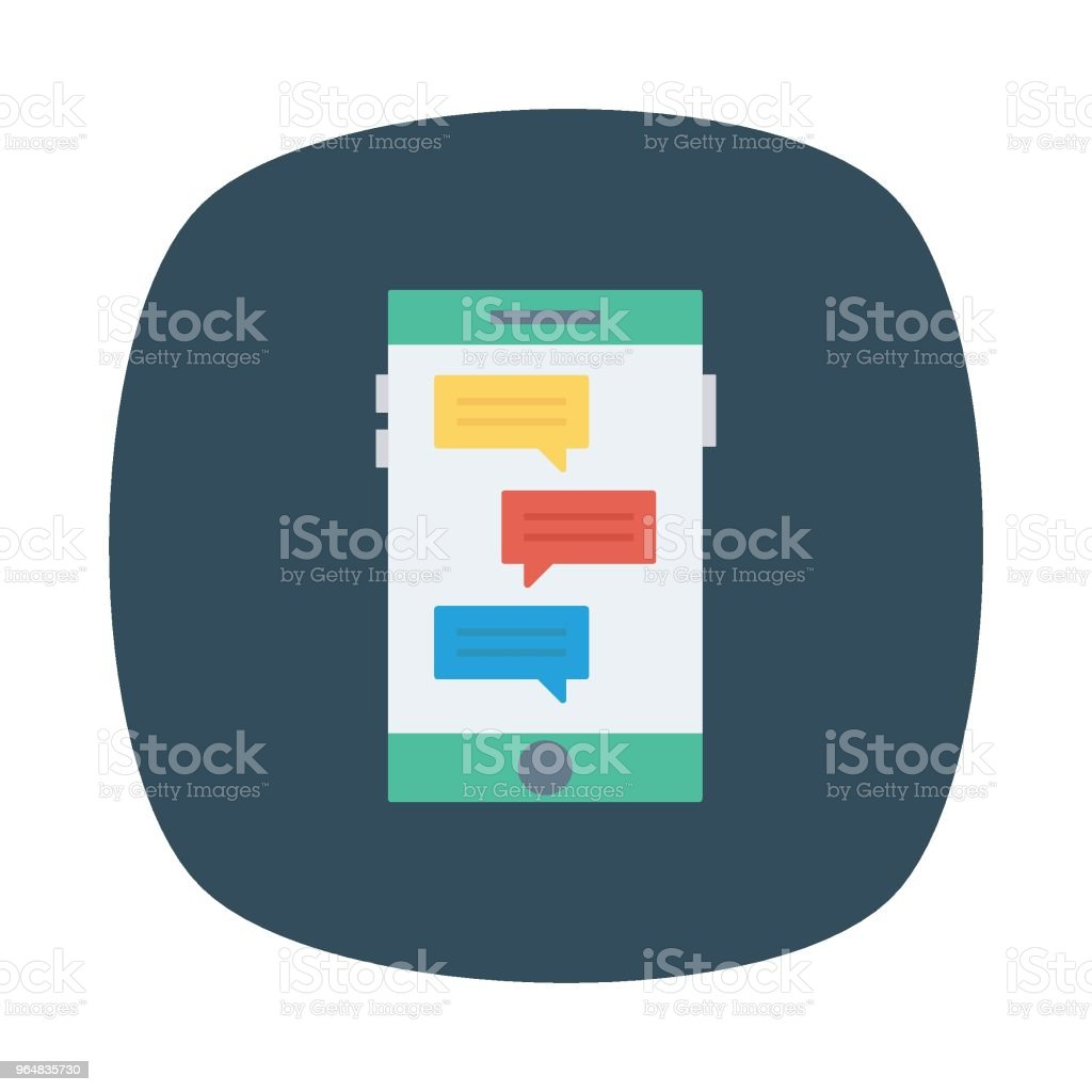 chat royalty-free chat stock illustration - download image now