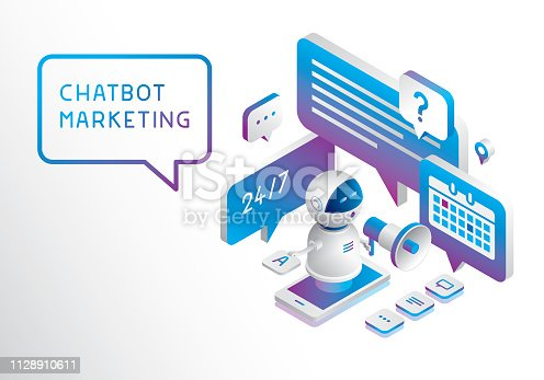 istock Chatbot marketing 1128910611