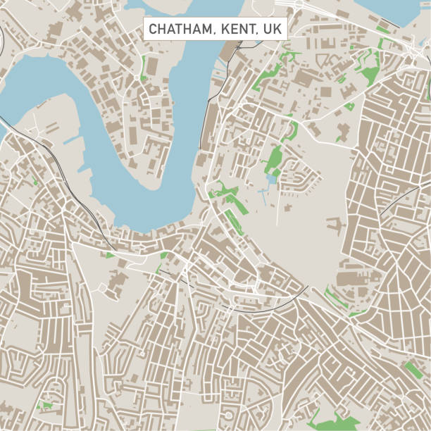 Chatham England Map.Royalty Free Chatham England Clip Art Vector Images Illustrations