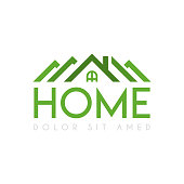 Cheap Residential Home Logo near the city. for company or corporations industry, print various online and offline, promotion advertising and marketing. can be for landing page, template, web, mobile app, poster, website