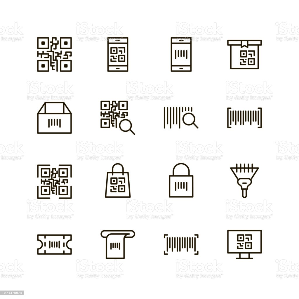 Check code icon vector art illustration