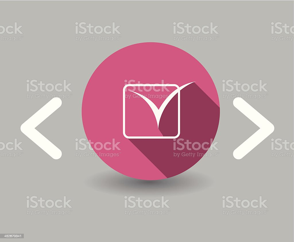 check icon royalty-free stock vector art