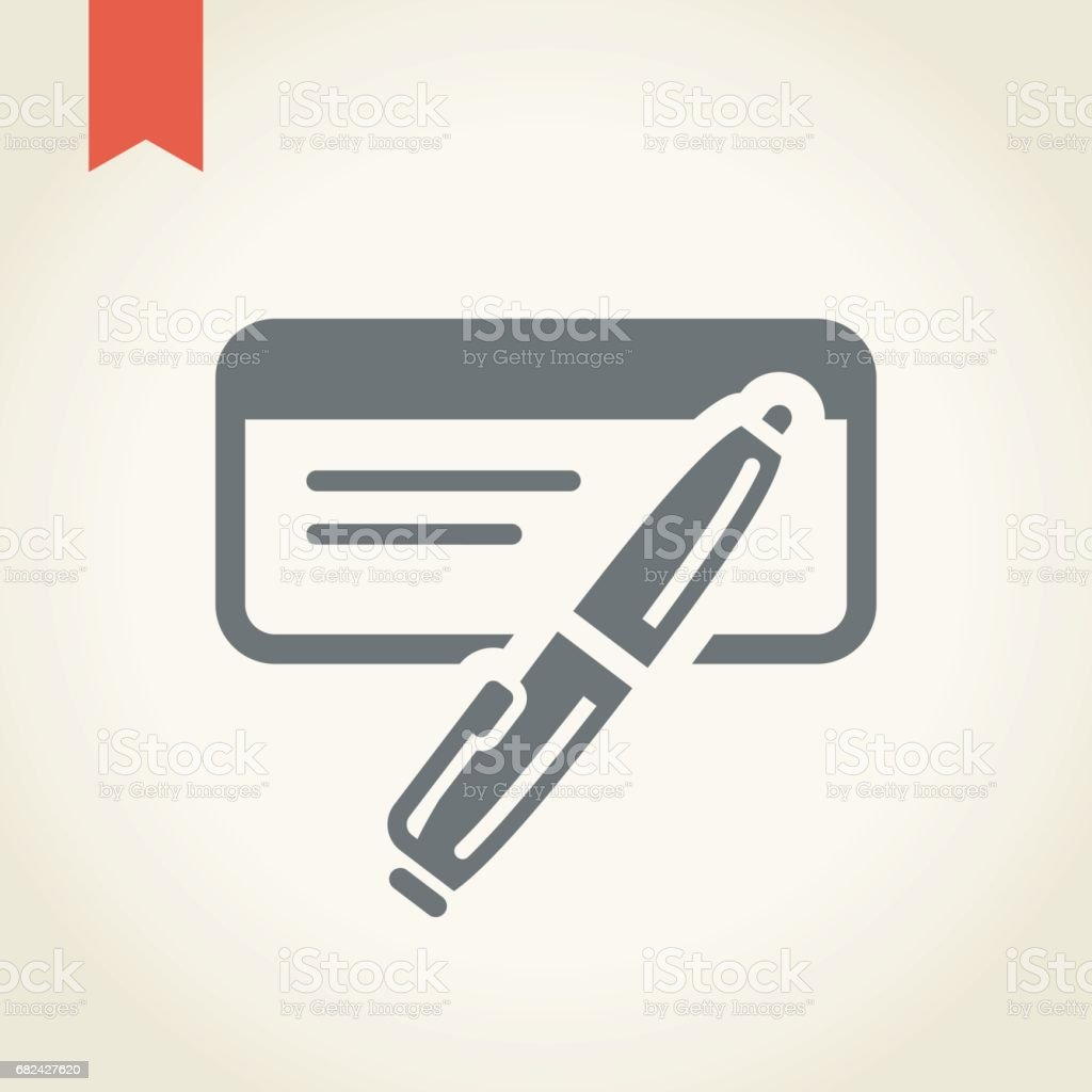 Check Icon royalty-free check icon stock vector art & more images of banking