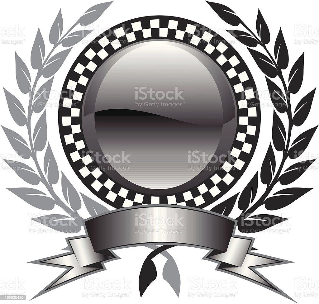 check in circle royalty-free stock vector art