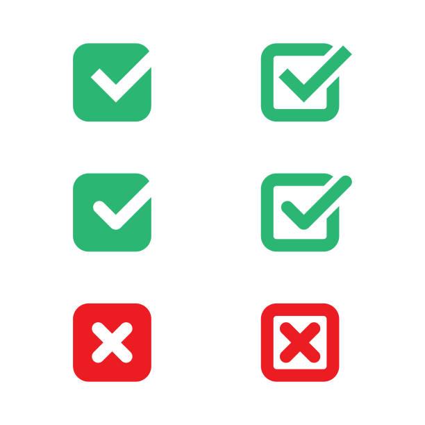 ilustraciones, imágenes clip art, dibujos animados e iconos de stock de marque marcar diseño vectorial de conjunto de elementos. - polling place
