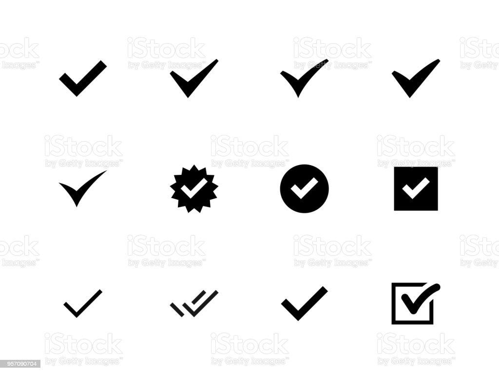 Différentes tailles de case à cocher icônes différentes tailles de case à cocher icônes vecteurs libres de droits et plus d'images vectorielles de accord - concepts libre de droits