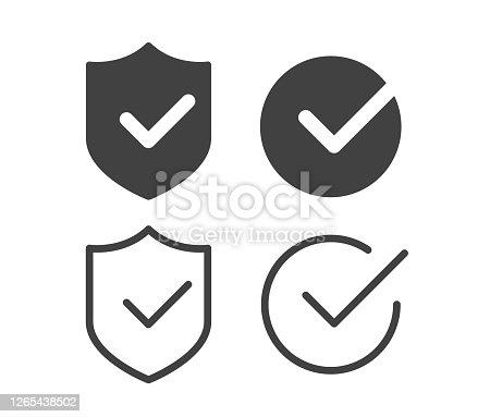 istock Check Mark - Illustration Icons 1265438502