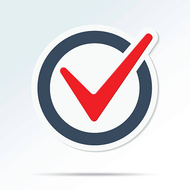check mark-symbol - stimme stock-grafiken, -clipart, -cartoons und -symbole