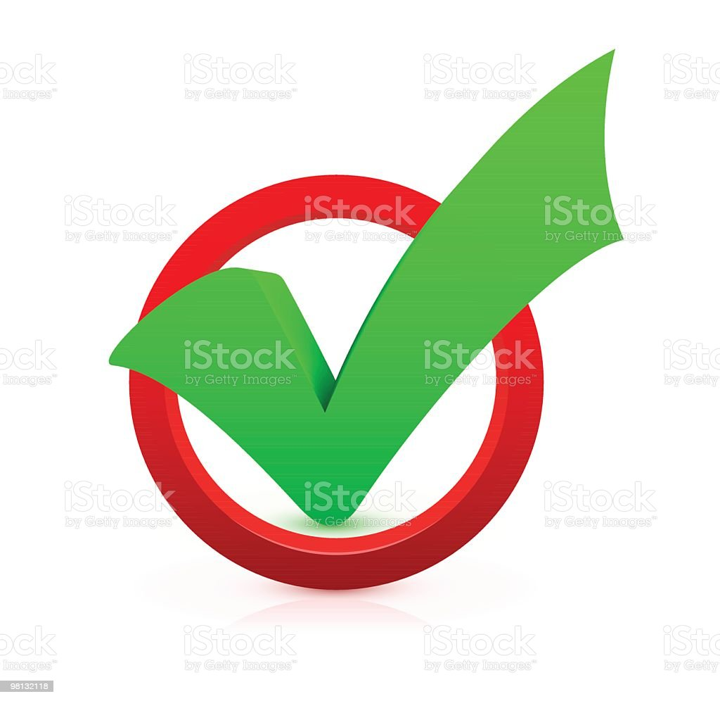 Check Mark royalty-free check mark stock vector art & more images of achievement