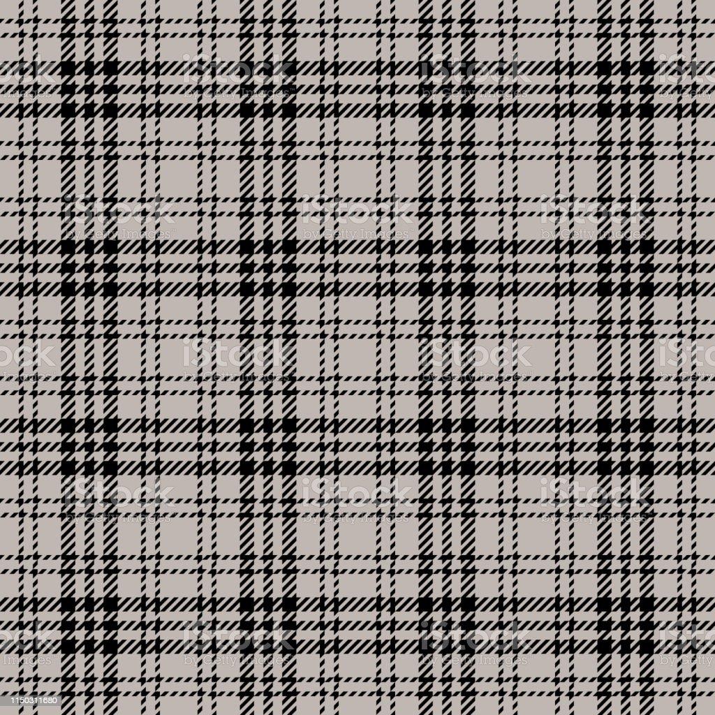 Check plaid pattern seamless vector. Tartan check plaid for textile...