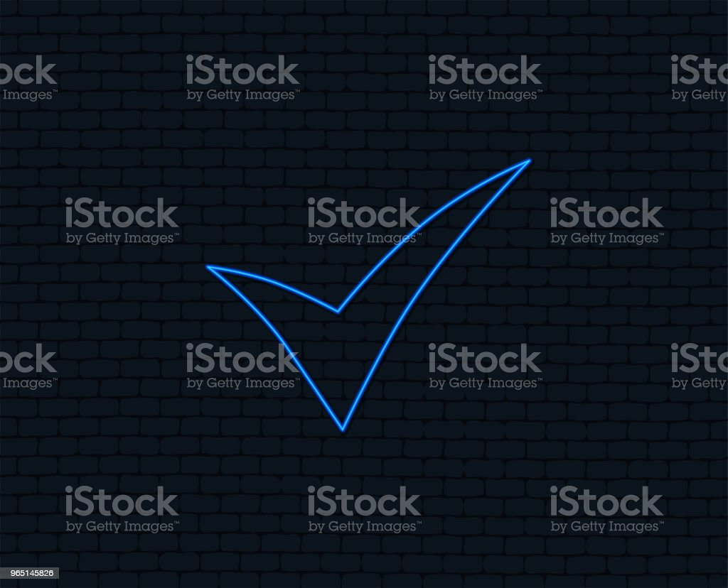 Check sign icon. Yes symbol. royalty-free check sign icon yes symbol stock vector art & more images of applying